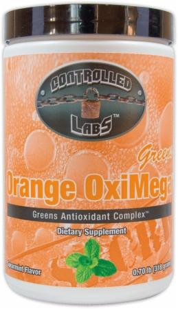 Orange OxiMega Greens Supplement - Greens Antioxidant Complex